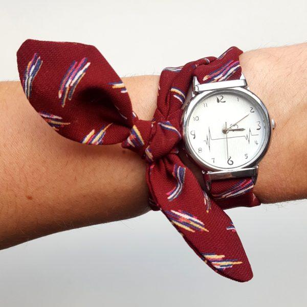 montre bracelet tissu